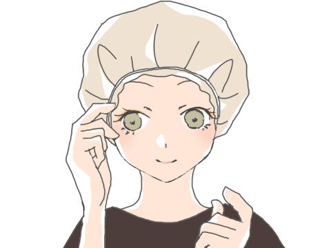 頭皮を温める